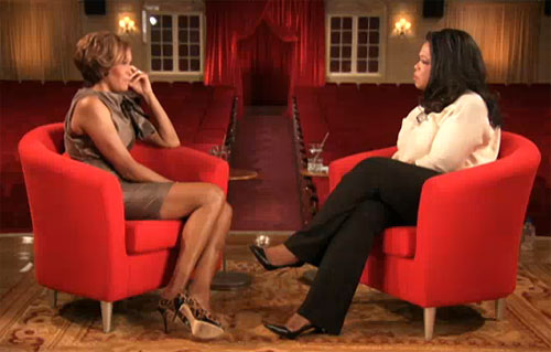 whitneyhouston oprah Whitney Houston bei Oprah: Sie war 7 Monate lang im Pyjama!