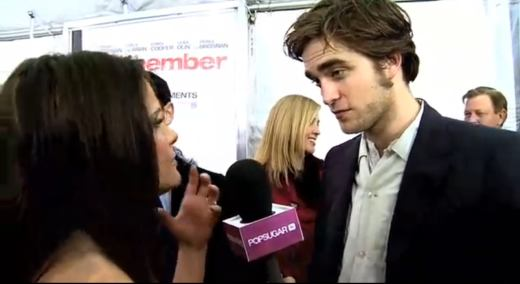Robert Pattinson Remember Me Premiere in New York