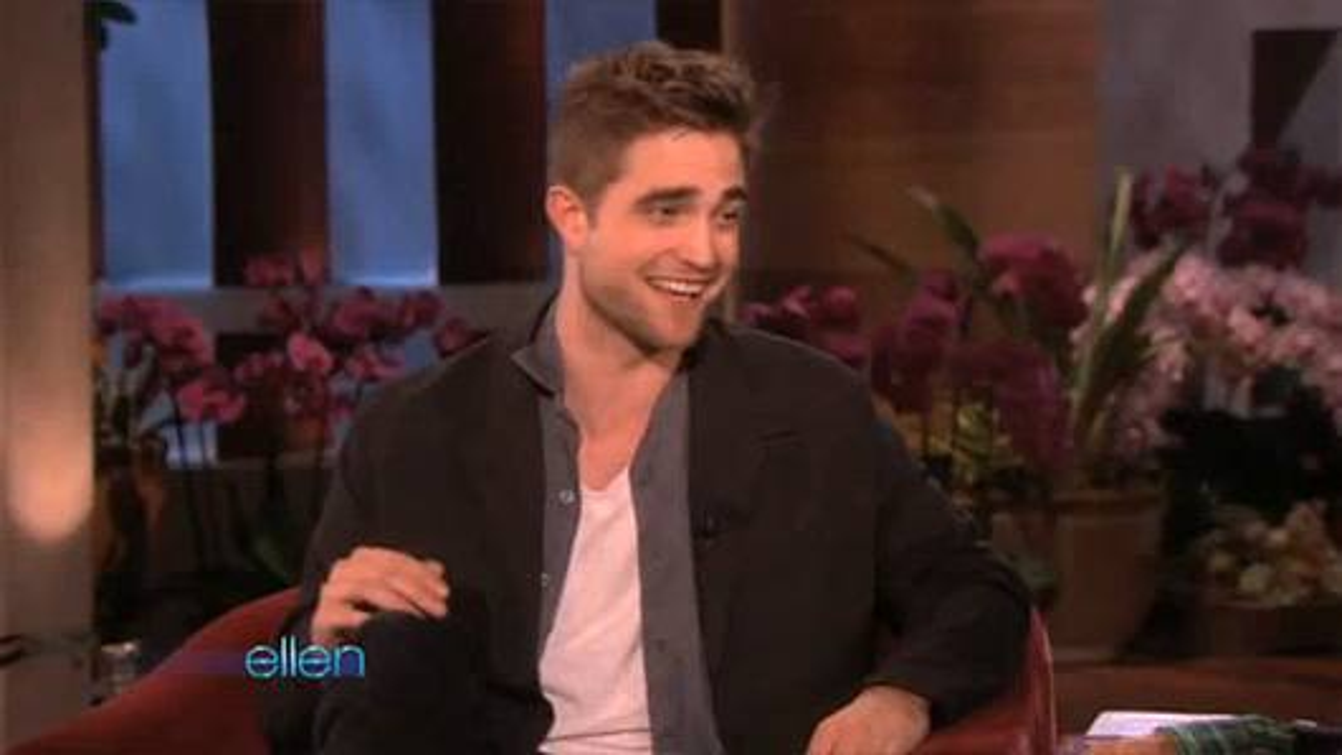Robert Pattinson Ellen