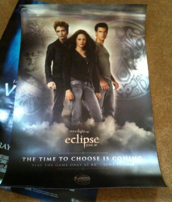 Twilight Eclipse neues Poster