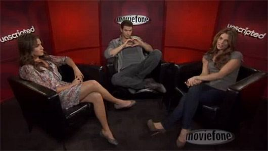 Nikki Reed Kellan Lutz Ashley Greene Unscripted Kellan Lutz, Ashley Greene und Nikki Reed interviewen sich selbst!