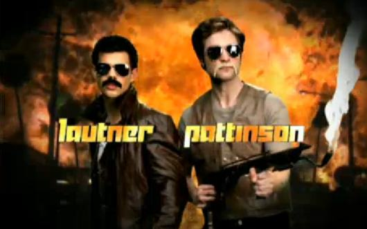 Pattinson Lautner Cops Robert Pattinson & Taylor Lautner: Bad Ass Cops @ MTV Movie Awards!