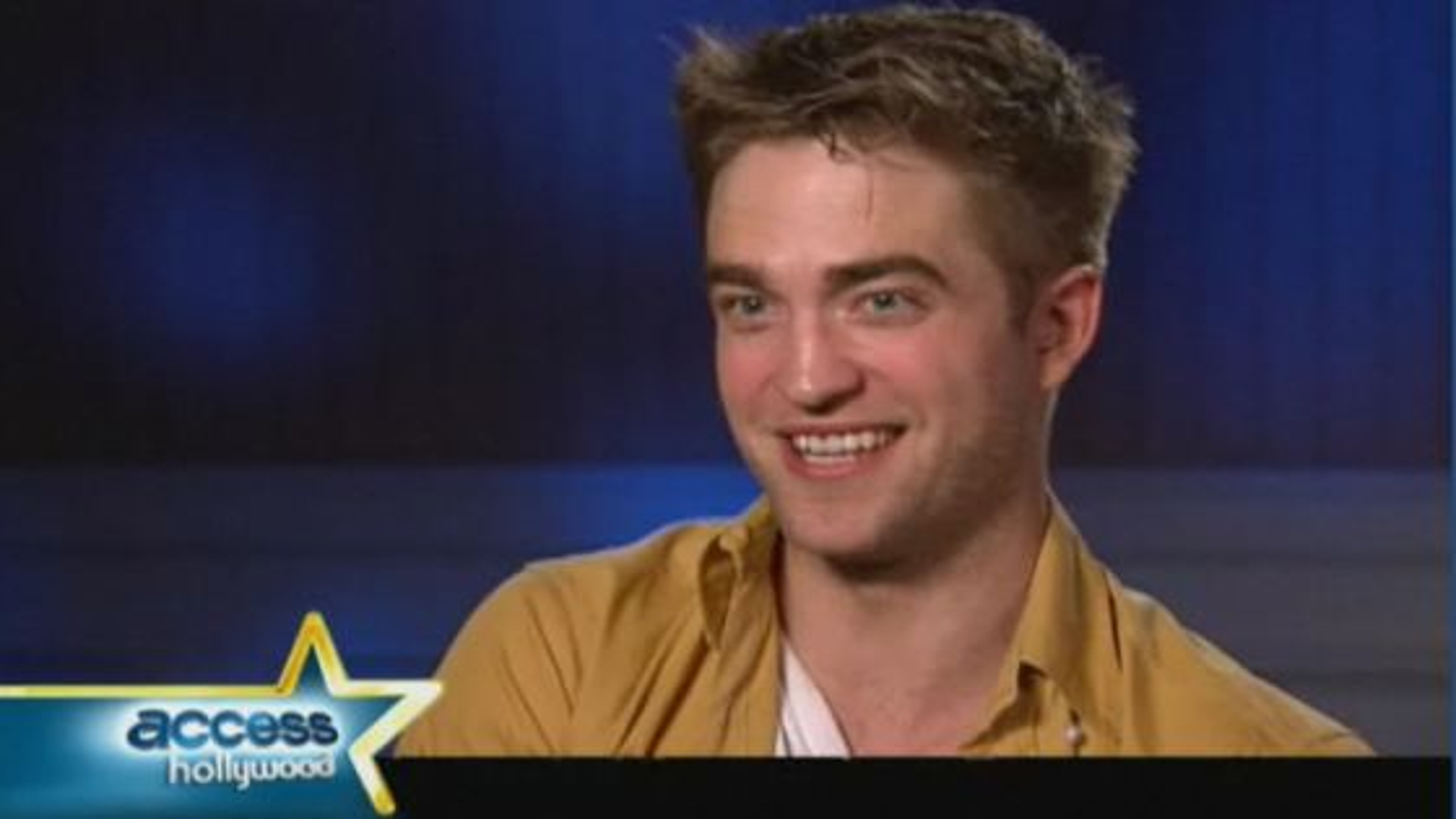 Robert Pattinson Access Hollywood