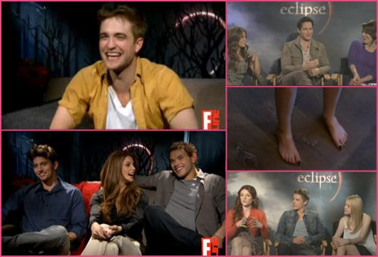 Twilight Eclipse Cast Interviews 30 Juni Robert Pattinson, Kristen Stewart & Twilight Cast: Interview Megabeitrag!