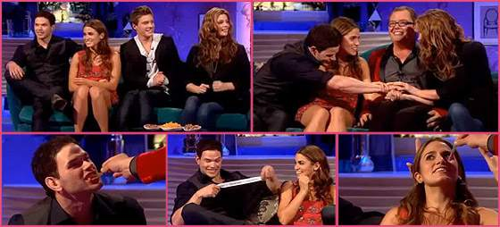 Kellan Lutz Nikki Reed Ashley Greene Xavier Samuel Alan Carr Kellan Lutz, Ashley Greene & Twilight Cast @ Alan Carr