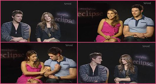 Kellan Lutz Nikki Reed Ashley Greene Xavier Samuel Interview xpose Kellan Lutz, Ashley Greene & Twilight Cast reden über Robert Pattinson!