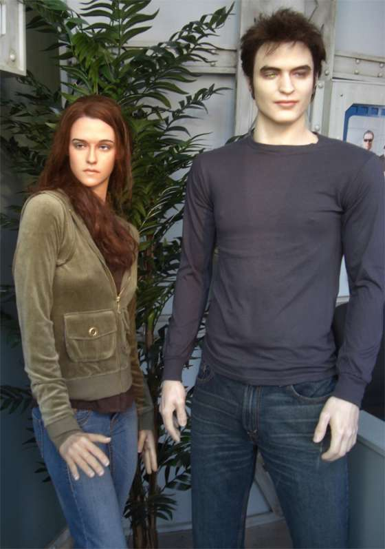 Robert Pattinson Kristen Stewart Wachsfigur Gatlinburg