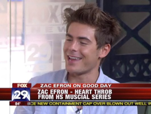 Zac Efron Charlies Interview