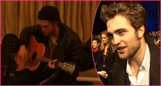 Robert Pattinson London Konzert Extended