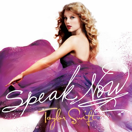 Taylor Swift Speak Now Cover Taylor Swift   Speak Now Albumcover