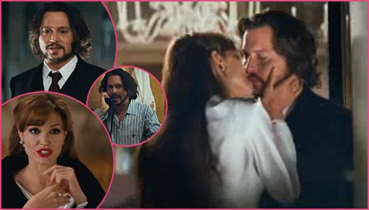 Angelina Jolie Johnny Depp The Tourist Angelina Jolie und Johnny Depp: Hinter den Kulissen von The Tourist!