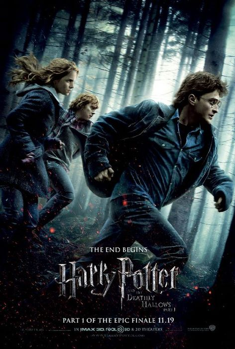 Harry Potter Deathly Hallows Posternew