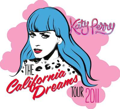 Katy Perry California Dreams Tour Katy Perry: The California Dreams Tour 2011 kommt nach Deutschland!