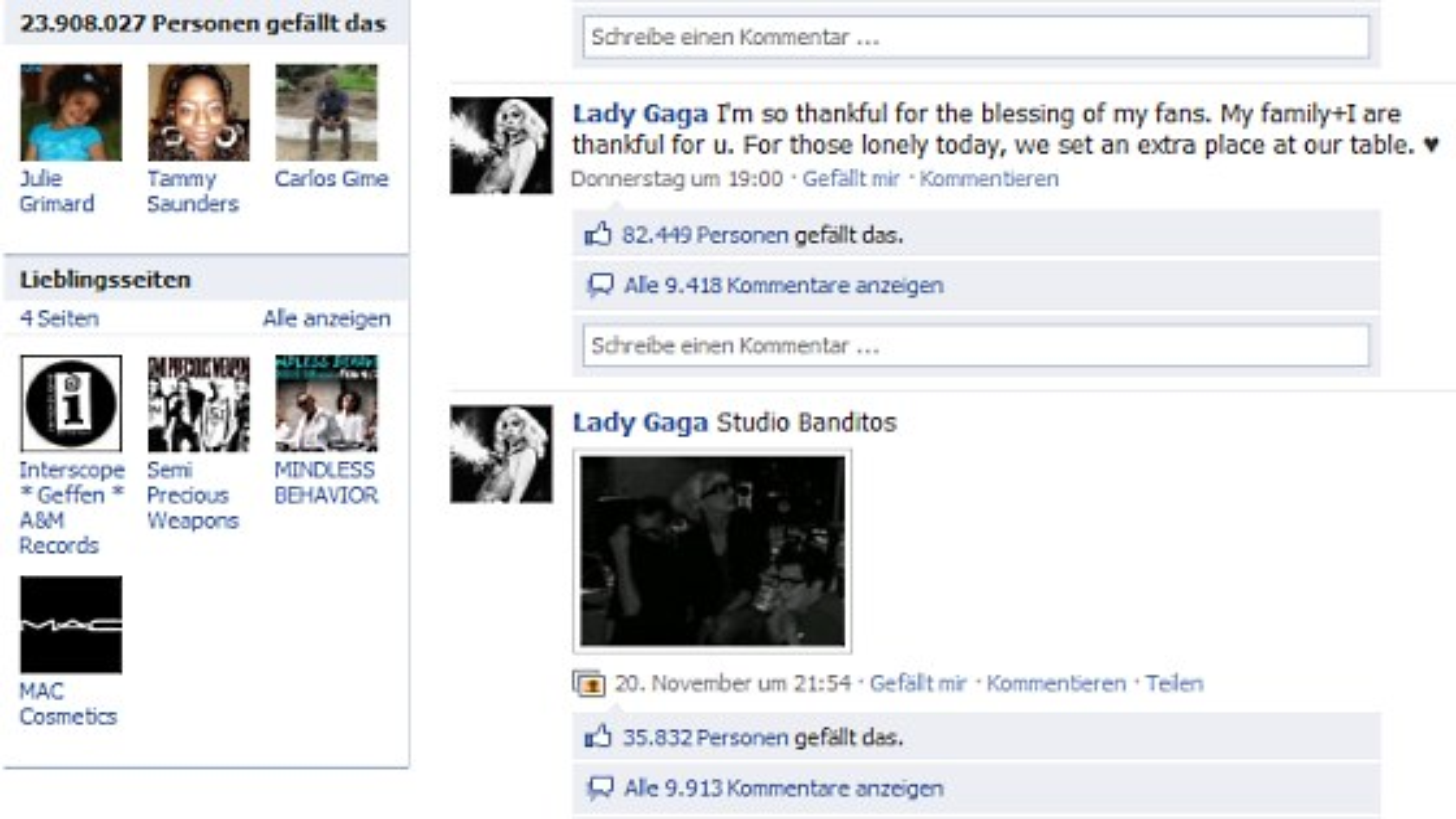 Lady-Gaga-Facebookpage