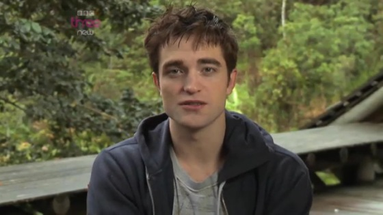 Robert Pattinson BBC Screencap