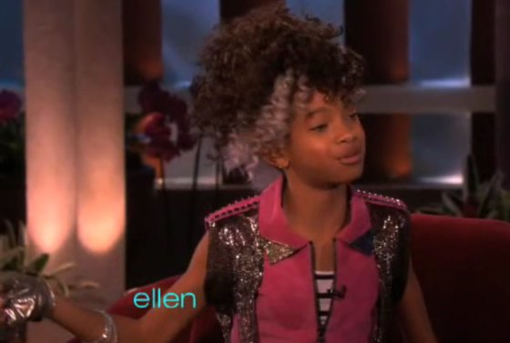 Willow Smith Ellen 2010