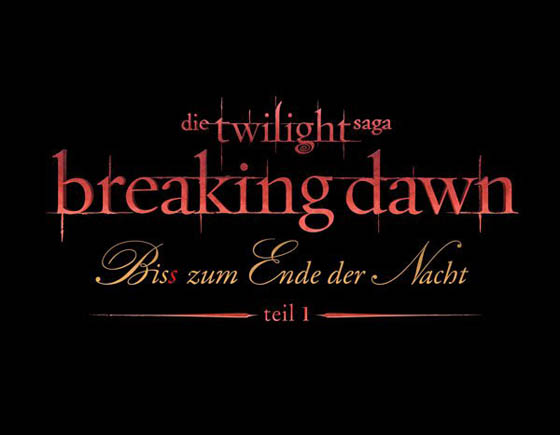 Breaking Dawn Logo Deutsch
