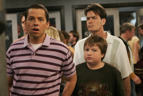 Two and a Half Men Promobild harpers