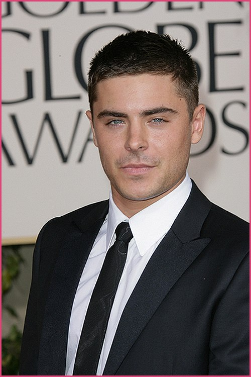 Zac Efron Golden Globes 2011