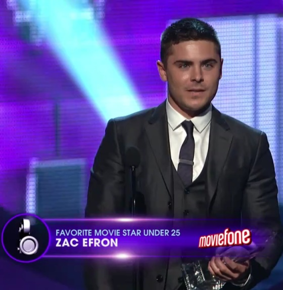 Zac Efron Peoples Choice 2011