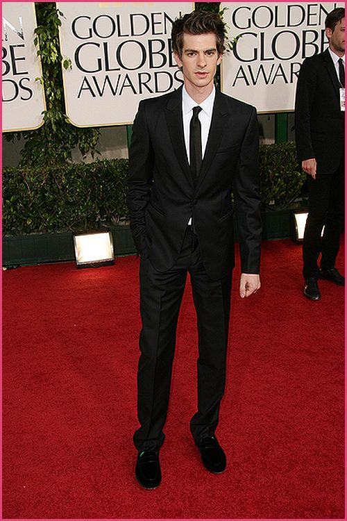 andrew garfield golden globes 2011