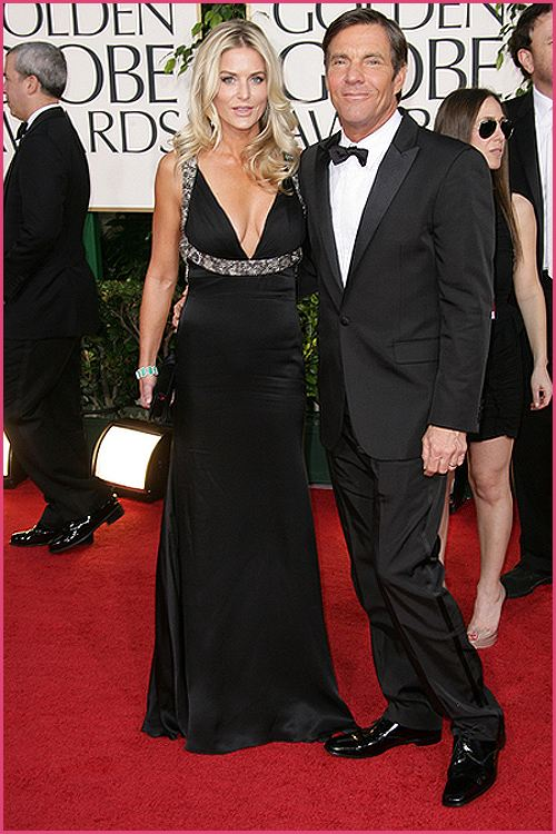 Dennis Quaid Golden Globes 2011