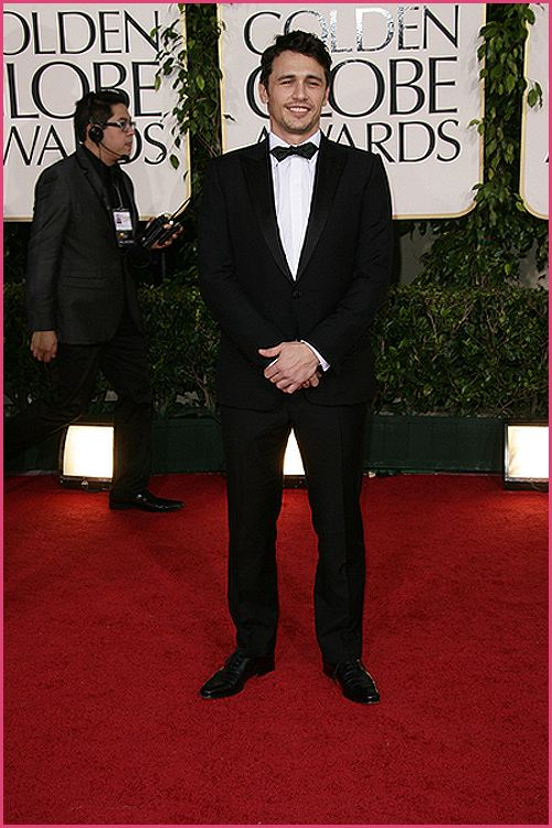 james franco golden globes 2011