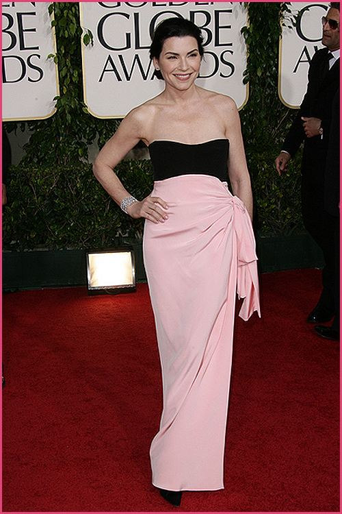 julianna margulies golden globes 2011 Golden Globes 2011: Welches Kleid war am schönsten?