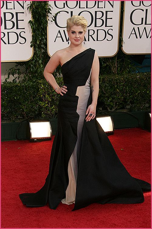 kelly osbourne golden globes 2011