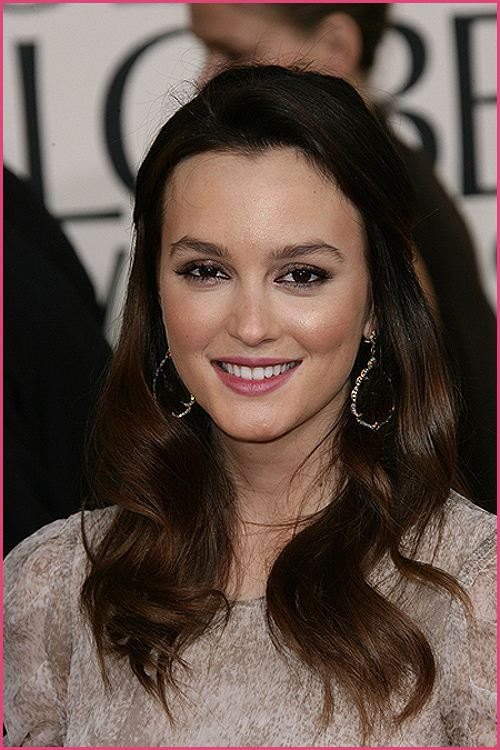 leighton meester golden globes 2011 2