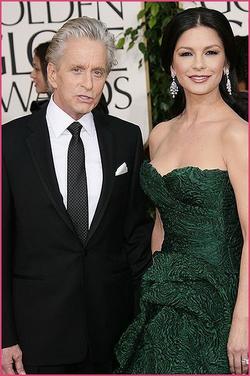 michael douglas golden globes 2011