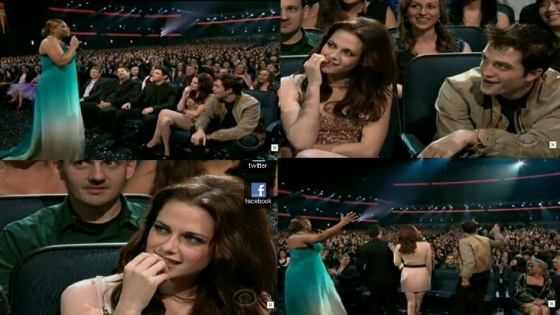 robsten pca2011 17 Robert Pattinson & Kristen Stewart: Liebesdrama @ Peoples Choice Awards?