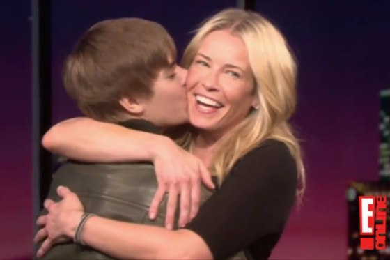 Justin Bieber Chelsea Lately 2011
