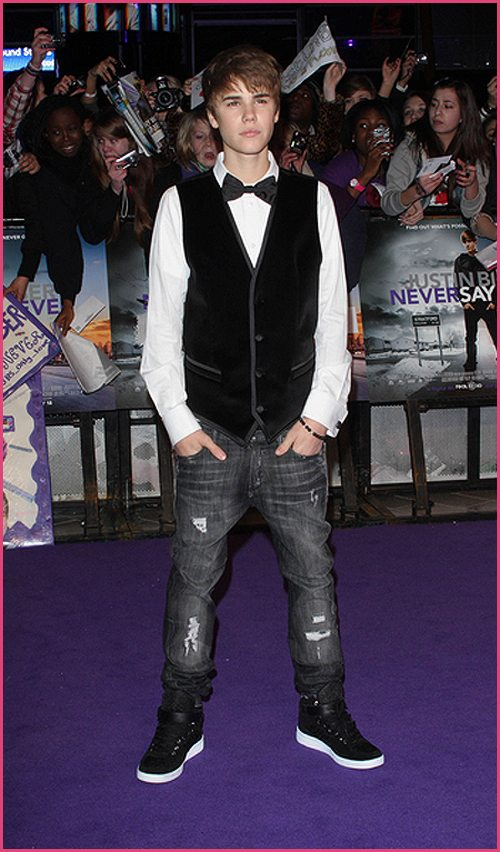 Justin Bieber Never Say Never London 1