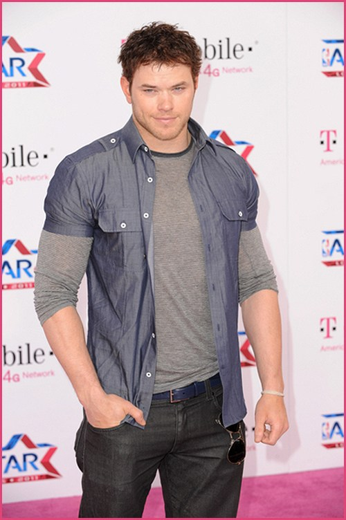 Kellan Lutz NBA Allstar Game 2