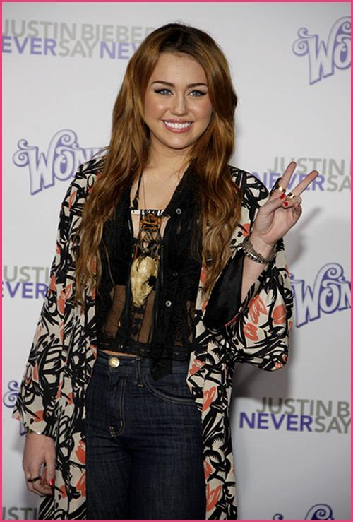 Miley Cyrus Never Say Never