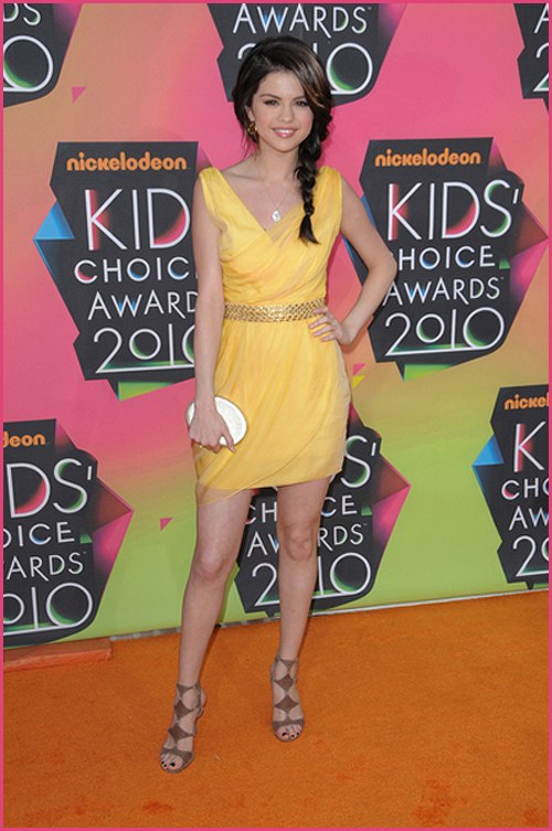 Selena Gomez Kids Choice 2010