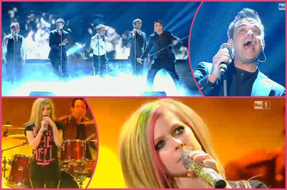 Take-That-Avril-Lavigne-San-Remo