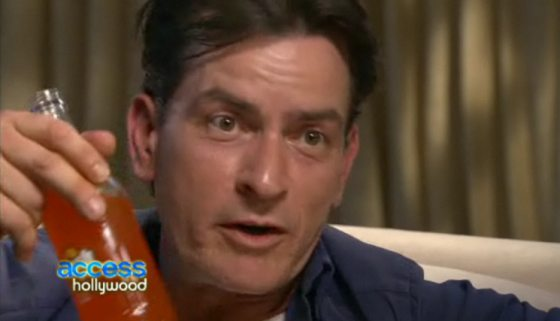 Charlie Sheen Access Hollywood