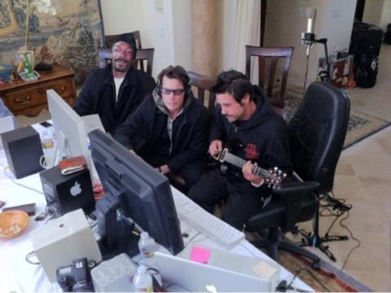 Charlie Sheen Snoop Tonstudio