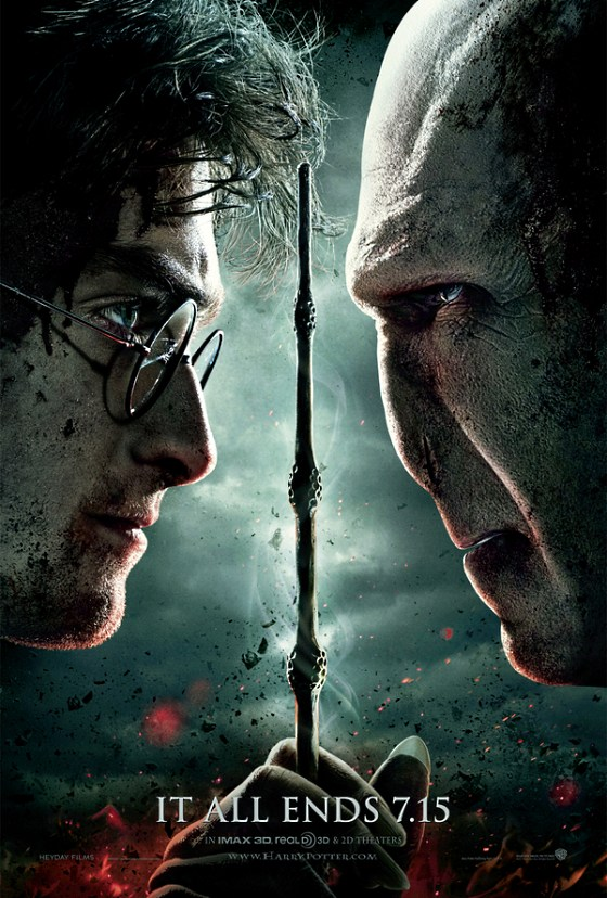 Harry Potter Deathly Hallows 2 Offical Poster Harry Potter 7 Featurette: Deathly Hallows 2 Epic Finale