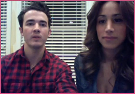 Kevin Danielle Jonas Cambio Chat