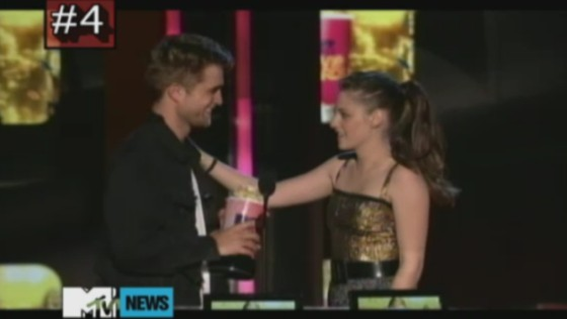Robert Pattinson Kristen Stewart Movie Awards