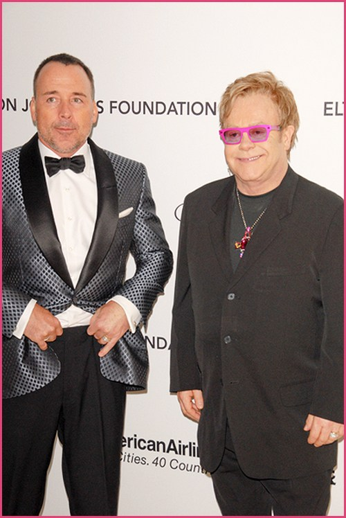 Elton John David Furnish 20112 Lady Gaga ist Patentante von Elton Johns Sohn!