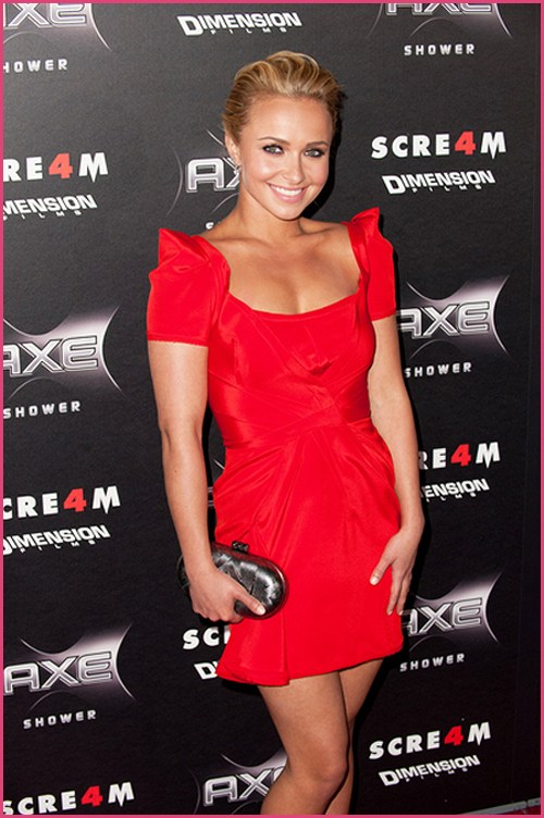 Hayden Panettiere Scream 4 Premiere