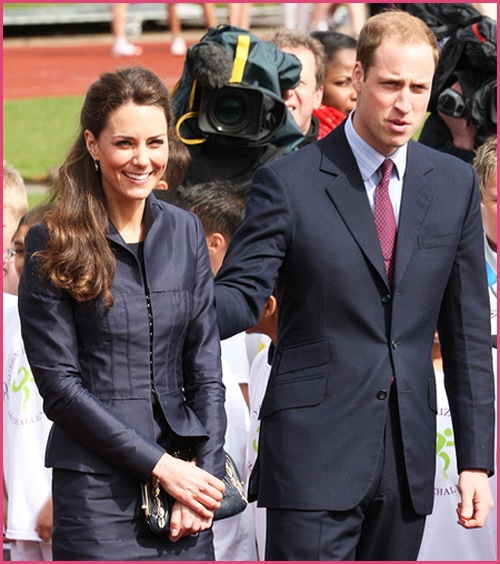 Prinz William Kate Middleton Darwen