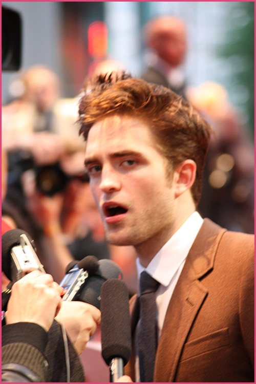 Robert Pattinson Berlin WFE 40
