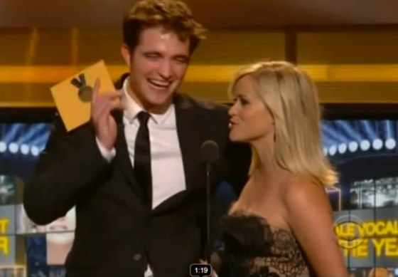 Robert Pattinson Reese Witherspoon ACM