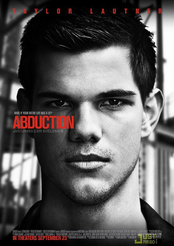 Taylor Lautner Abduction Filmposter