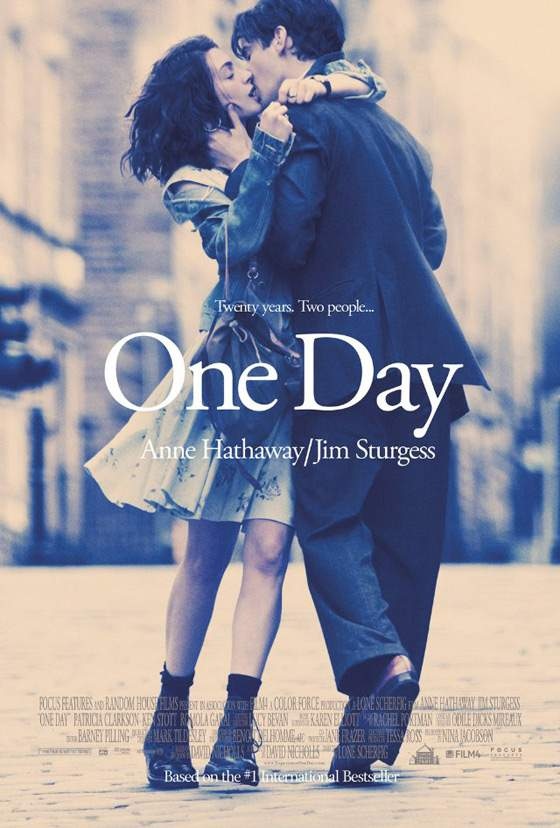 Anne Hathaway One Day Poster